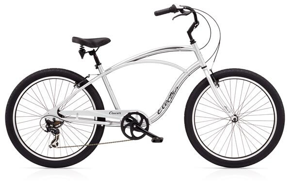 ELECTRA BICYCLE - Cruiser Lux 7D Men's Silver