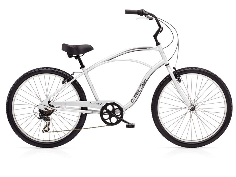 Electra Bicycle Cruiser 7D Men's Silver