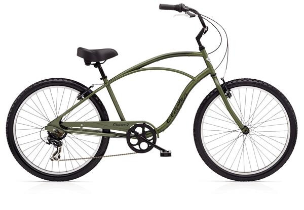 ELECTRA BICYCLE - Cruiser 7D Men's Matte Khaki
