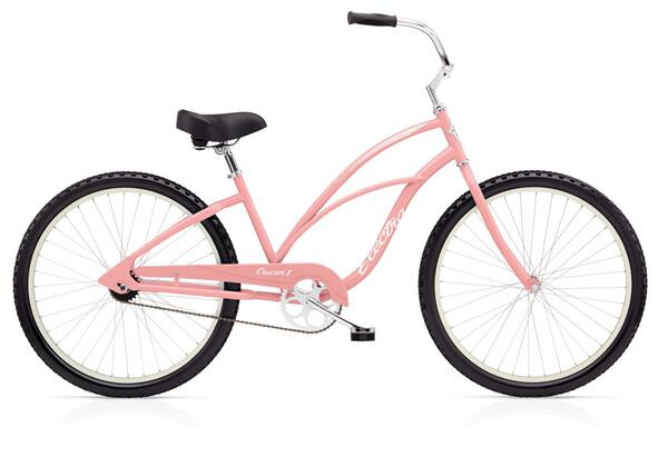 ELECTRA BICYCLE - Cruiser 1 Ladies' Pink