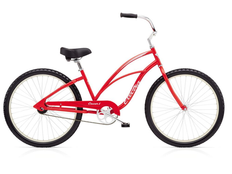 Electra Bicycle Cruiser 1 Ladies' Red