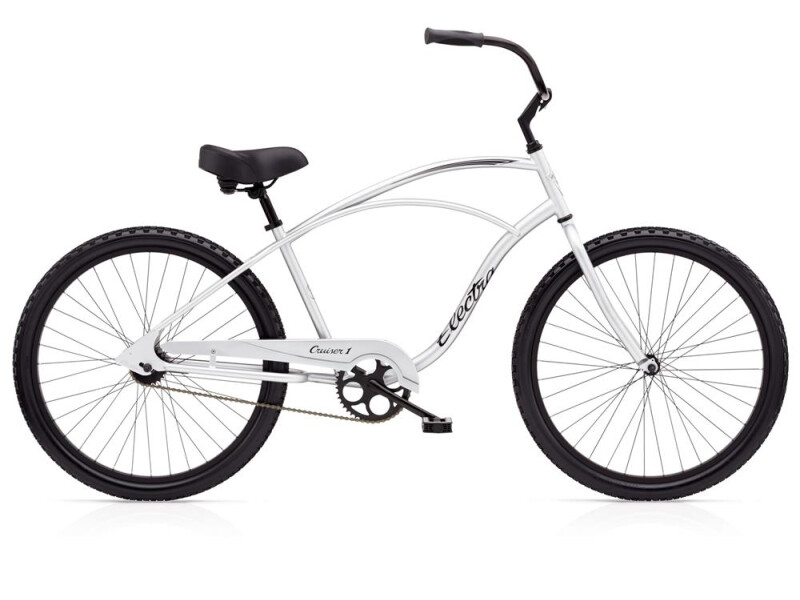 Electra Bicycle Cruiser 1 Men's Silver