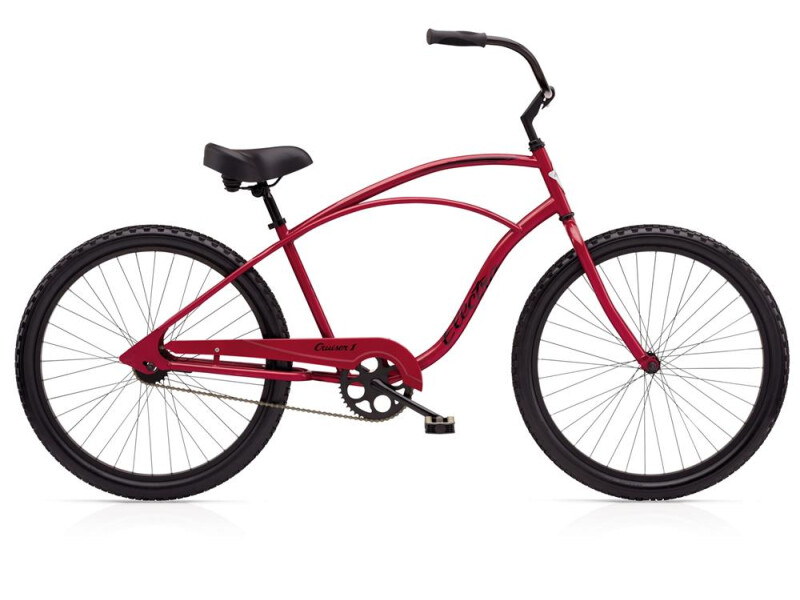 Electra Bicycle Cruiser 1 Men's Red Metallic