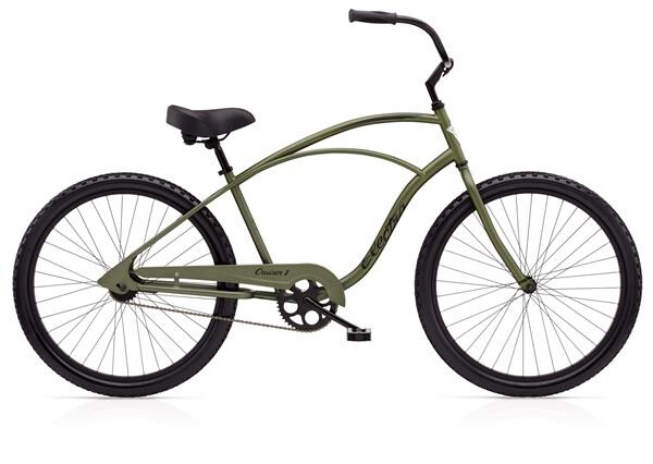 ELECTRA BICYCLE - Cruiser 1 Men's TALL Matte Khaki