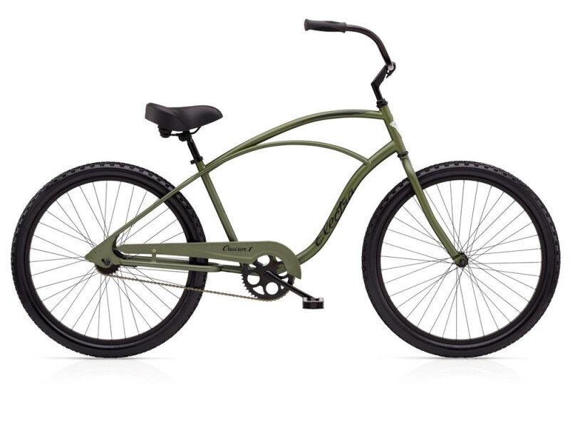 Electra Bicycle Cruiser 1 Men's TALL Matte Khaki