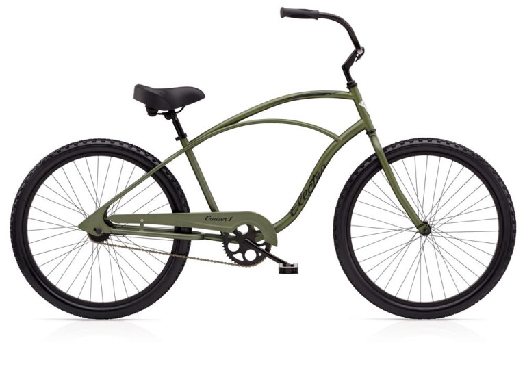 ELECTRA BICYCLE Cruiser 1 Men's Matte Khaki