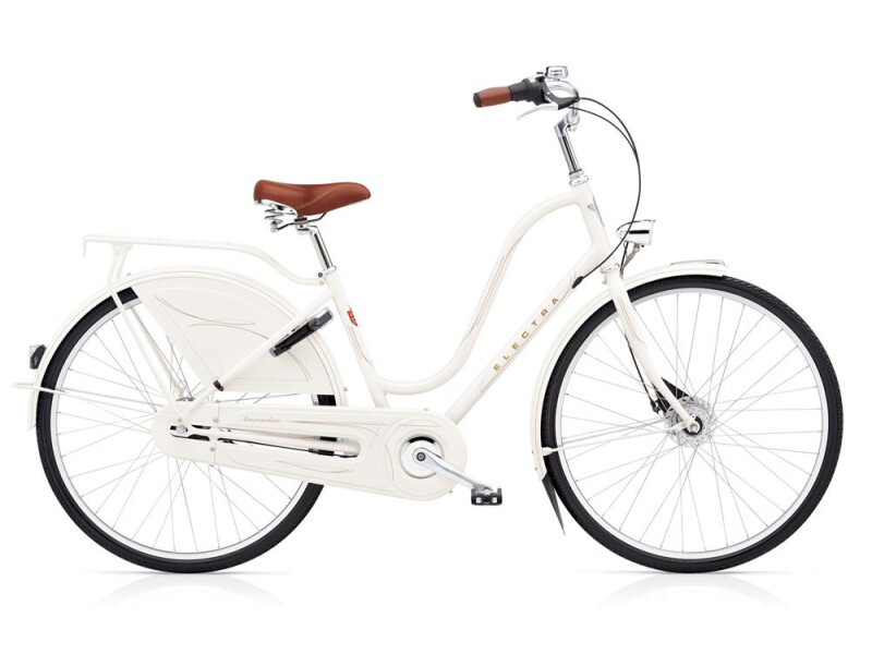 Electra Bicycle Amsterdam Royal 8i Ladies' Pearl White