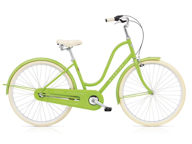 Electra Bicycle Amsterdam Original 3i Ladies' Spring Green