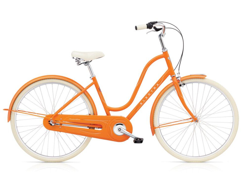 Electra Bicycle Amsterdam Original 3i Ladies' Orange