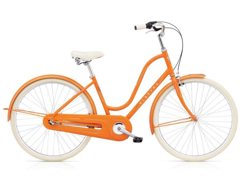 Electra Bicycle Amsterdam Original 3i Ladies' Orange