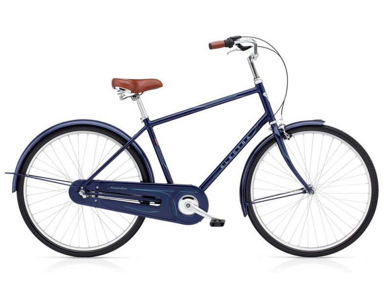 Electra Bicycle Amsterdam Original 3i Men's Dark Blue Metallic