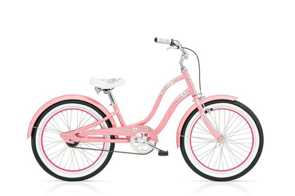 ELECTRA BICYCLE - Hawaii 1 20in Girl's 20 Pink