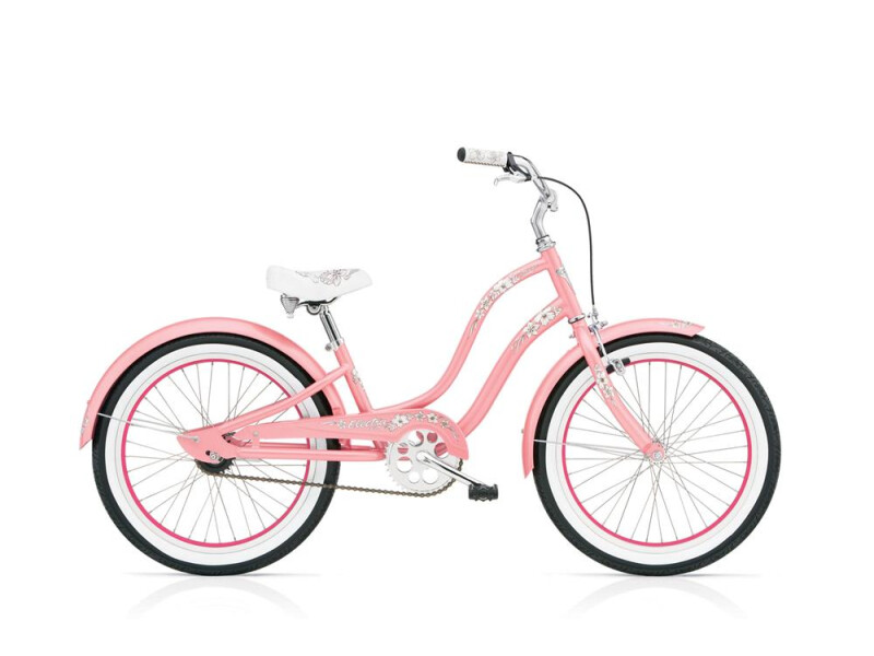 Electra Bicycle Hawaii 1 20in Girl's 20 Pink
