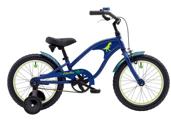 ELECTRA BICYCLE - Cyclosaurus 1 16in Boys' 16 Dark Blue