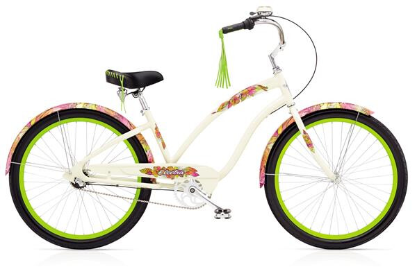 ELECTRA BICYCLE - SANS SOUCI 3i Ladies' Cream