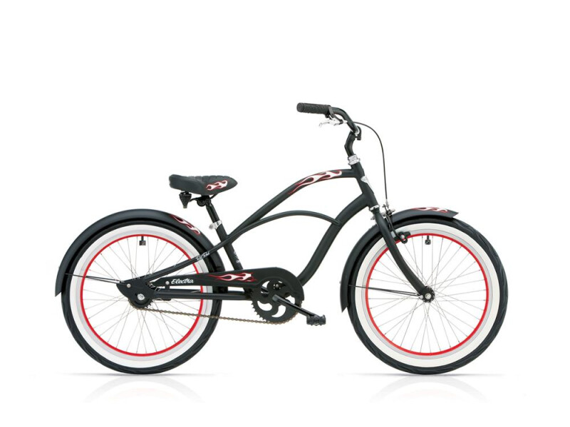 Electra Bicycle RatRod 1 20in Boy's 20 Black