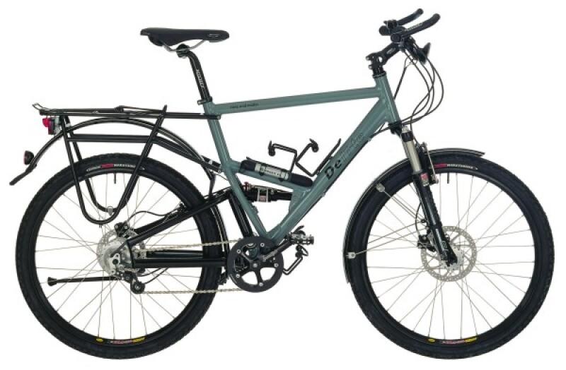 Riese und Müller Delite grey Trekkingbike