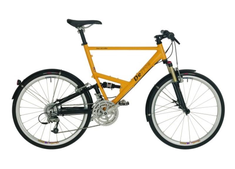 Riese und Müller Delite yellow Crossbike