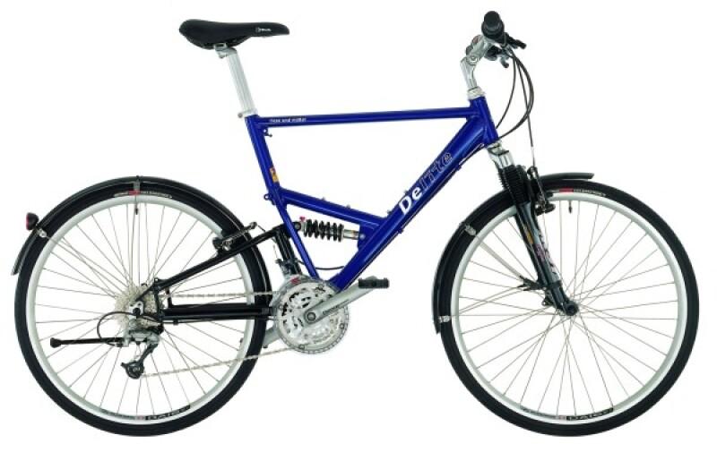 Riese und Müller Delite blue Crossbike