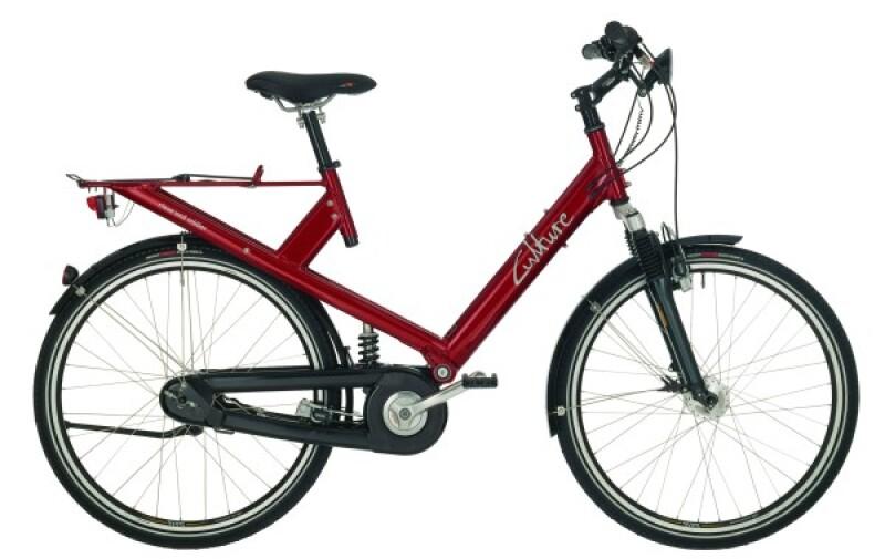 Riese und Müller Culture red Citybike
