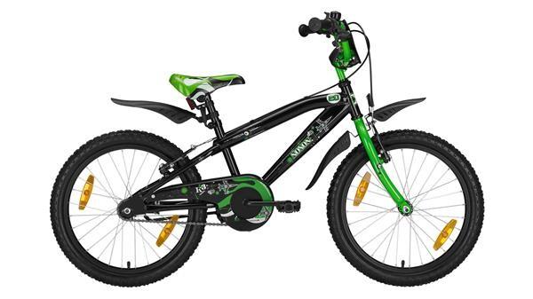 """NOXON - BMX 20"""" black/green BMX 20"""""""