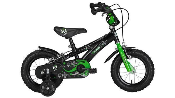 """NOXON - BMX 12"""" black/green BMX 12"""""""