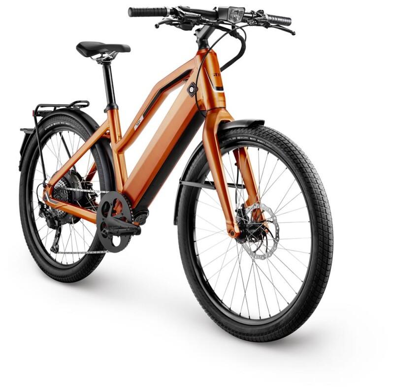 Stromer ST1 X Orange Comfort