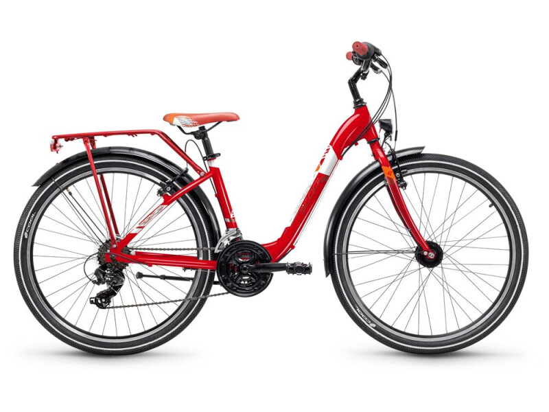 S´cool chiX steel 26 21-S red