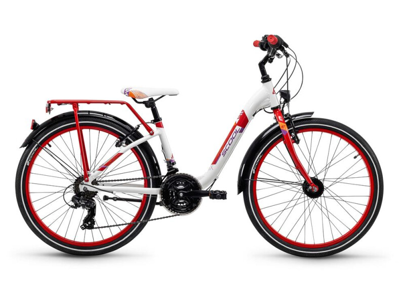 S´cool chiX alloy 24 21-S white/red