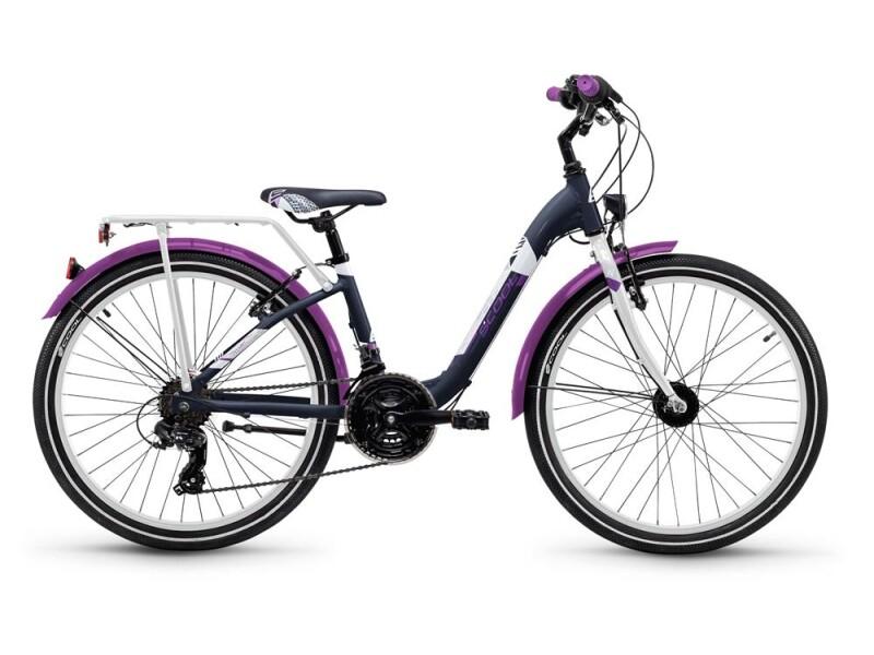 S´cool chiX alloy 24 21-S darkgrey/violett matt