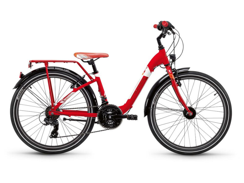 S´cool chiX steel 24 21-S red