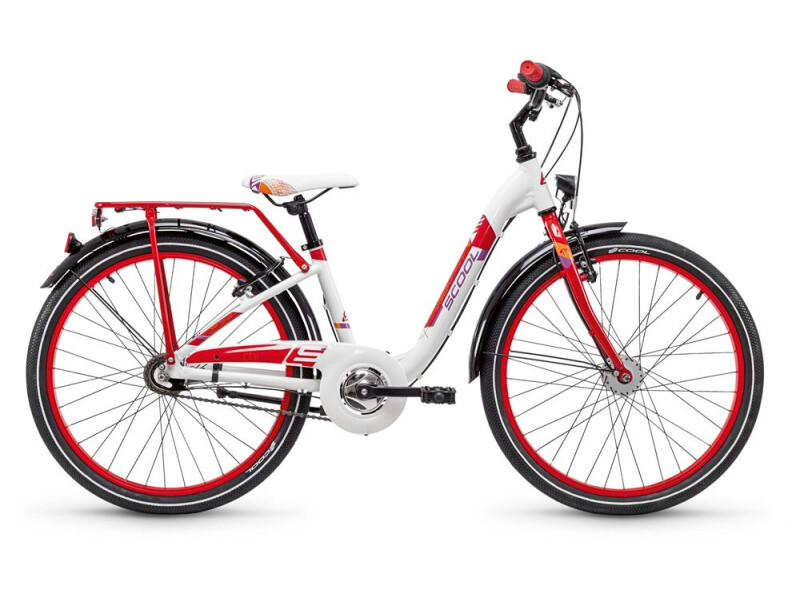 S´cool chiX alloy 24 7-S white/red