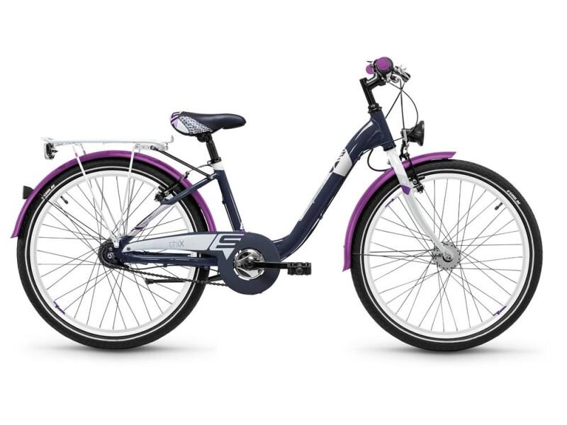 S´cool chiX alloy 24 7-S darkgrey/violett matt