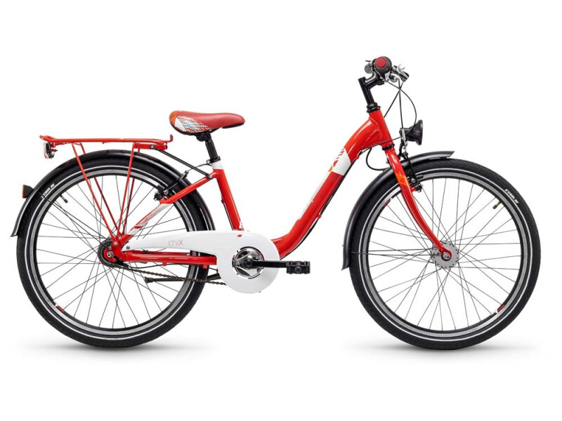 S´cool chiX steel 24 7-S red