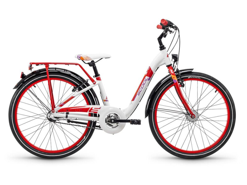 S´cool chiX alloy 24 3-S white/red