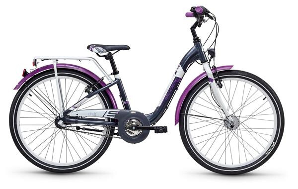 S´COOL - chiX alloy 24 3-S darkgrey/violett matt