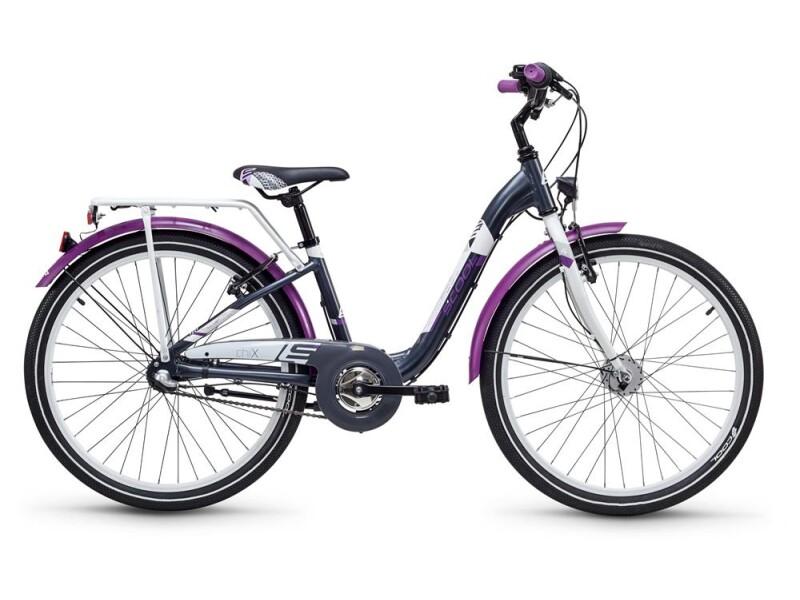 S´cool chiX alloy 24 3-S darkgrey/violett matt