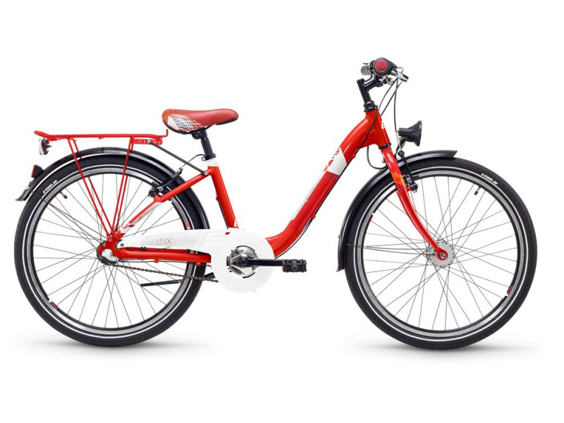 S´cool chiX steel 24 3-S red