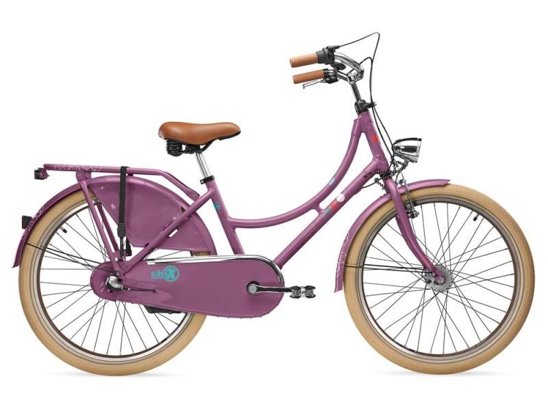 S´cool chiX classic 24-3 purple/blue matt