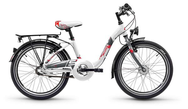 S´COOL - ChiX steel 20-3 white/red