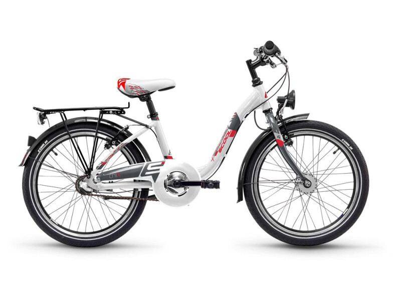 S´cool ChiX steel 20-3 white/red