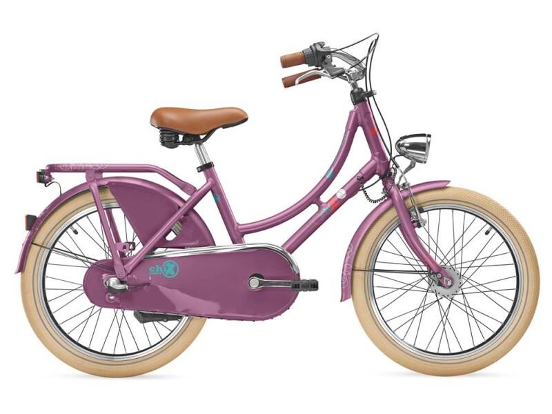 S´cool chiX classic 20-3 purple/blue matt