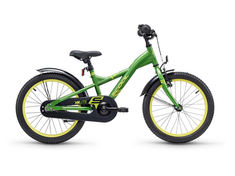 S´cool XXlite steel 18 green/yellow
