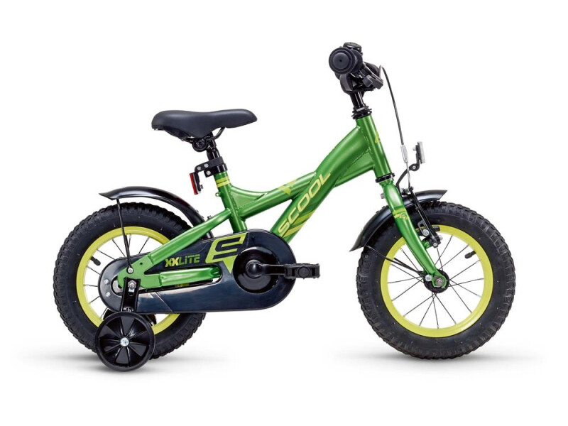 S´cool XXlite steel 12 green/yellow