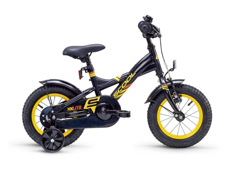 S´cool XXlite steel 12 black/yellow