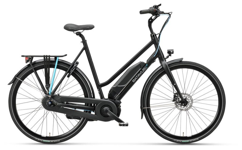 Batavus Dinsdag E-go® black matt Damen E-Bike