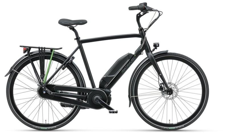 Batavus Dinsdag E-go® black matt Herren E-Bike