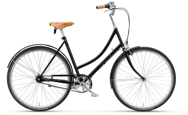 BATAVUS - London Vintage Curve blackpearl