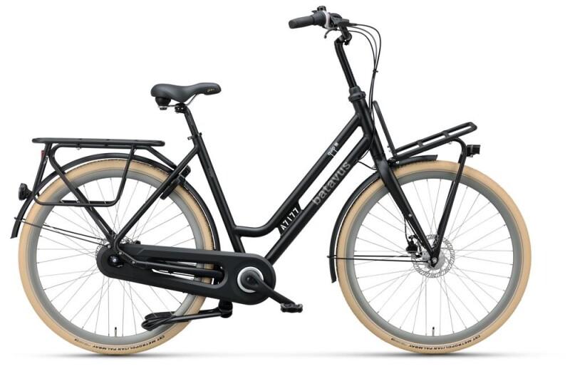 Batavus Quip Extra Cargo Curve black matt Citybike