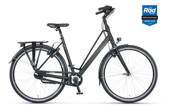 BATAVUS - Escala Curve black matt